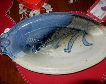 HOLLAND MICHIGAN ART Pottery Platter