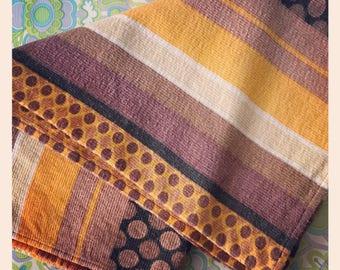 Retro 70's Fabric Abstract Fabric