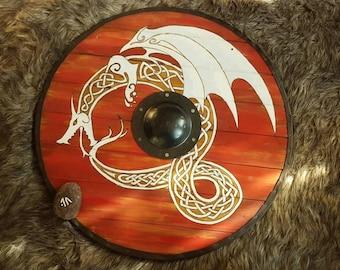 Custom Viking style decorative shield