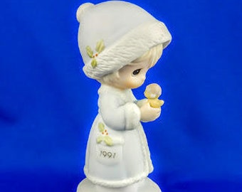 May Your Christmas Be Merry Precious Moments Figurine
