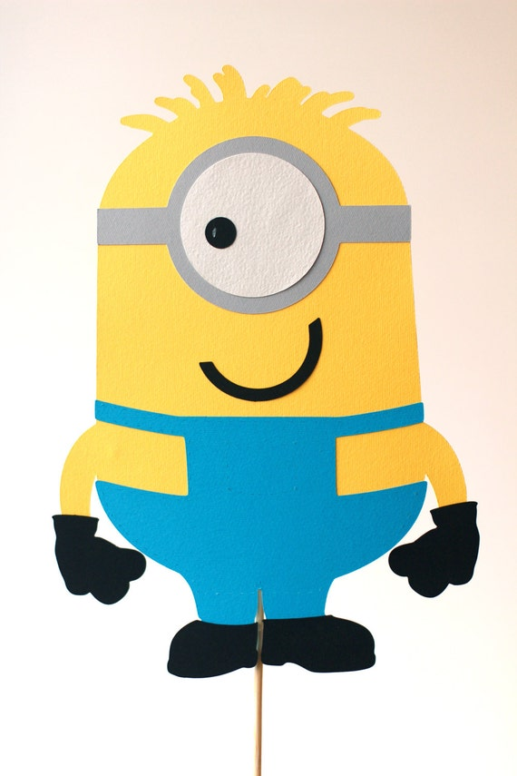 BIG Minion Centerpieces Custom Decorations Despicable Me Birthday Minions Party