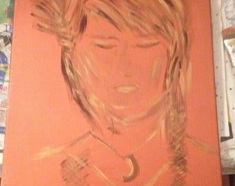 Spiritual energy painting