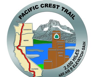 Pacific Crest Trail Medal