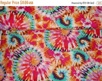 Tie dye fabric, 60's Hippie Fabric, sewing supplies, quilting supplies, Home Decor, custom pillows, cotton fabric, quilting and sewing.