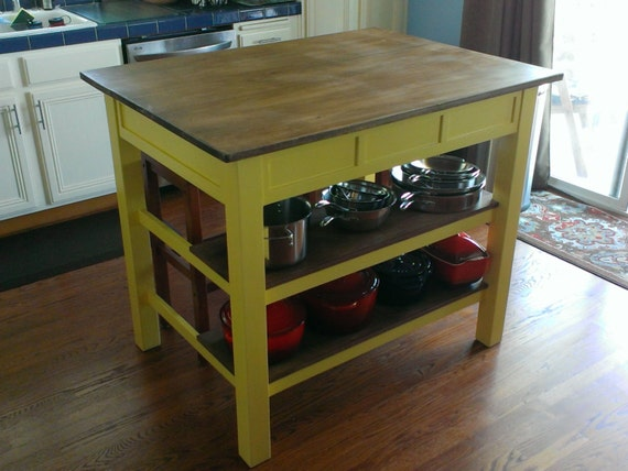 solid wood kitchen island handcrafted kitchen island solid wood 5612