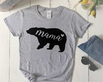 Mama bear shirt, Mom life shirt, Mama bear t-shirt,  Momma bear shirt, Momma bear gift, Mothers day, Mothers day gift, Mama Bear