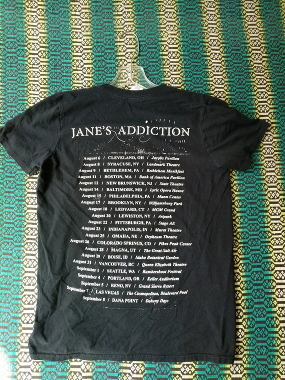 Jane's shirt collectible t worn holes band rare unique shirt vintage Addiction faded UrxPU