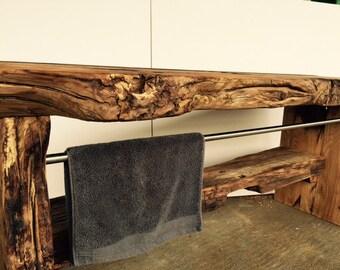 mobili bagno realizzati con legno pallet riciclaggio con. Black Bedroom Furniture Sets. Home Design Ideas