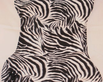 Zebra Burp Cloth and Bib Set