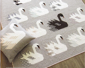 Elizabeth Hartman Swan Island Quilt Pattern