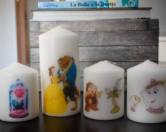 Candles the Beauty and the Beast
