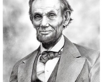 Abraham Lincoln (Mounted Print)