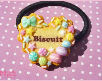 Biscuit and Sweets scrunchy by Dolly House
