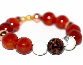 Amber Stardust Bracelet