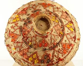 Dish of traditional basketry   Libya