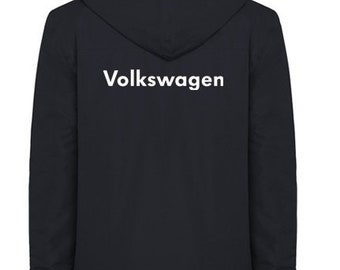Volkswagen Quilted Polyester Wind and Water Resistant Winter Jacket