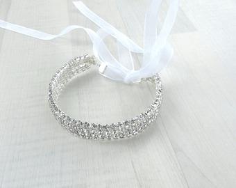 Wedding art deco bun wrap, Bun jewelry, Rhinestone bun wrap, Bridal headdress, Bridal jeweled bun wrap, Sparkly bun wrap, Crystal hair wrap