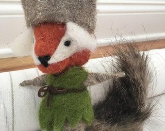 Wool Felt Fox