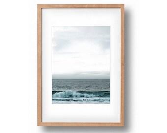 beach print ocean print coastal print diy art beach art nautical decor beach decor coastal decor wave print seascape wall art ocean art wave