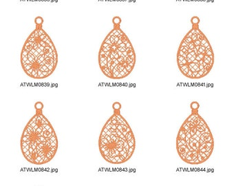 FSL-Tree-Ornaments ( 10 Machine Embroidery Designs from ATW ) XYZ17B