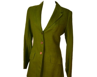 Equestrian Jacket Brittany Size S Raw Linen Riding Jacket