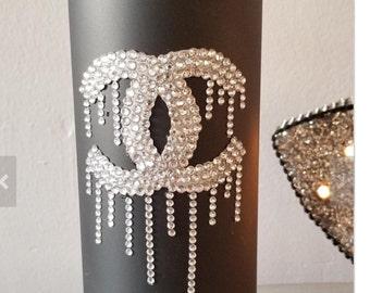 Fashion Rhinestone Vase, Wedding Centerpiece, Sweet 16, Home Decor, Wedding  Gift,