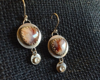 Sale! Montana Agate and Brown Eyed Girls