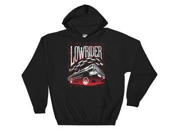 Lowrider Hoodie - Low Rider Hoodies - Lowrider Gift - Low Rider Sweatshirt