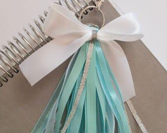 Here I Stand / Disney Tassel Keychain Frozen Elsa Planner charm purse charm