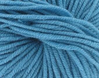 100% Merino Wool blue N ° 55 (Katia) - ball 50 gr.