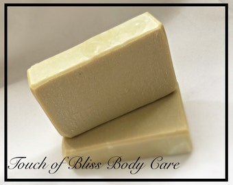 Pure Unscented Olive oil Handmade Soap