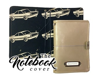 The Notebook Cover: Retro Drive A6 Size 5x7 inches