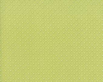 Caroline Fabric - Green Quilted Fabric - Brenda Riddle - Moda Fabric - Floral Fabric - Flower Fabric - 18654-15