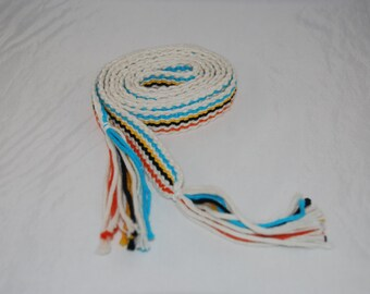 Striped Inkle Belt Bright Colors SCA or Modern