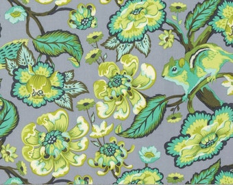 Chipmunk in Mint - CHIPPER by Tula Pink for Free Spirit Fabrics - By the Yard