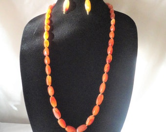 A Magnificent Roman Inspired Carnelian Necklace Set*****.