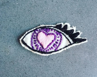 Heart Eye Patch - Nirvana Collection