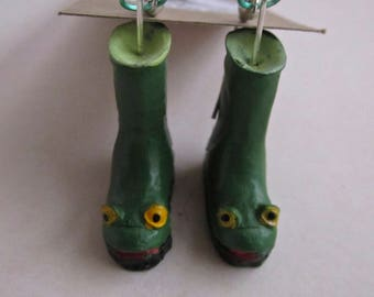 """Frog Wellies from """"The Shed"""""""