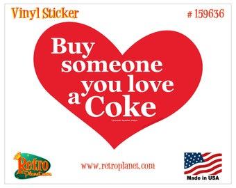 Coca-Cola Heart Someone You Love Vinyl Sticker - 159636