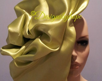 Haute Couture Draped Headdress