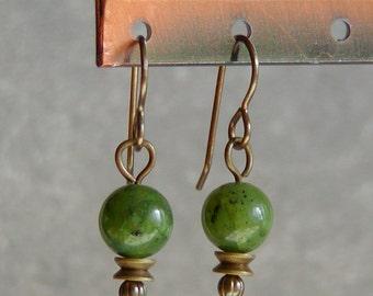 Jade Lantern Earrings