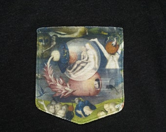 Garden of Earthly Delights Pocket Shirt (Hieronymus Bosch)
