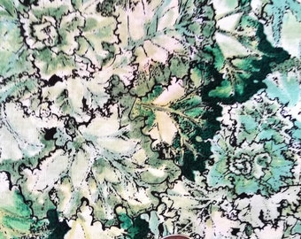 All The Greens Vintage  (Gardenscapes) great for sewing, quilting, crafts, pillows