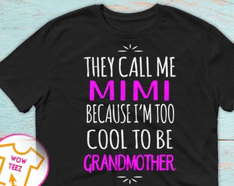 Mother's Day Gift, Mimi Shirt, Gift for Mom, Customized Mimi Shirt, Personalized Gift, Gift for Mimi, Mimi TShirt, Mother's Day, Mom Gifts