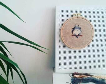 Totoro Instant Download Cross Stitch Pattern