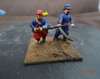 US civil war Zouave