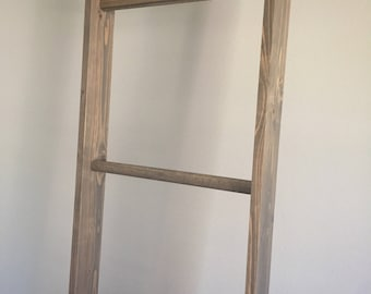 8' Decorative Rustic Wooden Ladder Prop - Houston TX Area Pickup Only