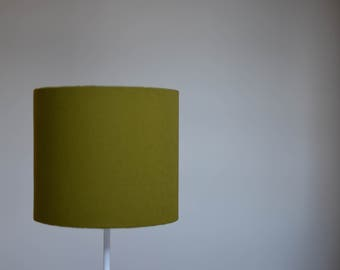 Olive home decor, green lamp shade, green home decor, solid lampshade, plain green lampshade, green table lamp, green lampshade, floor lamp