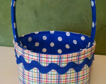 Boy easter basket etsy boys easter basket baby shower gift basket blue negle Choice Image