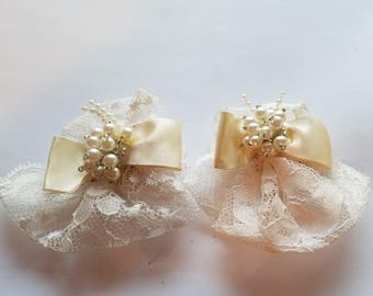S.G. D'Or Wedding Shoe Clips